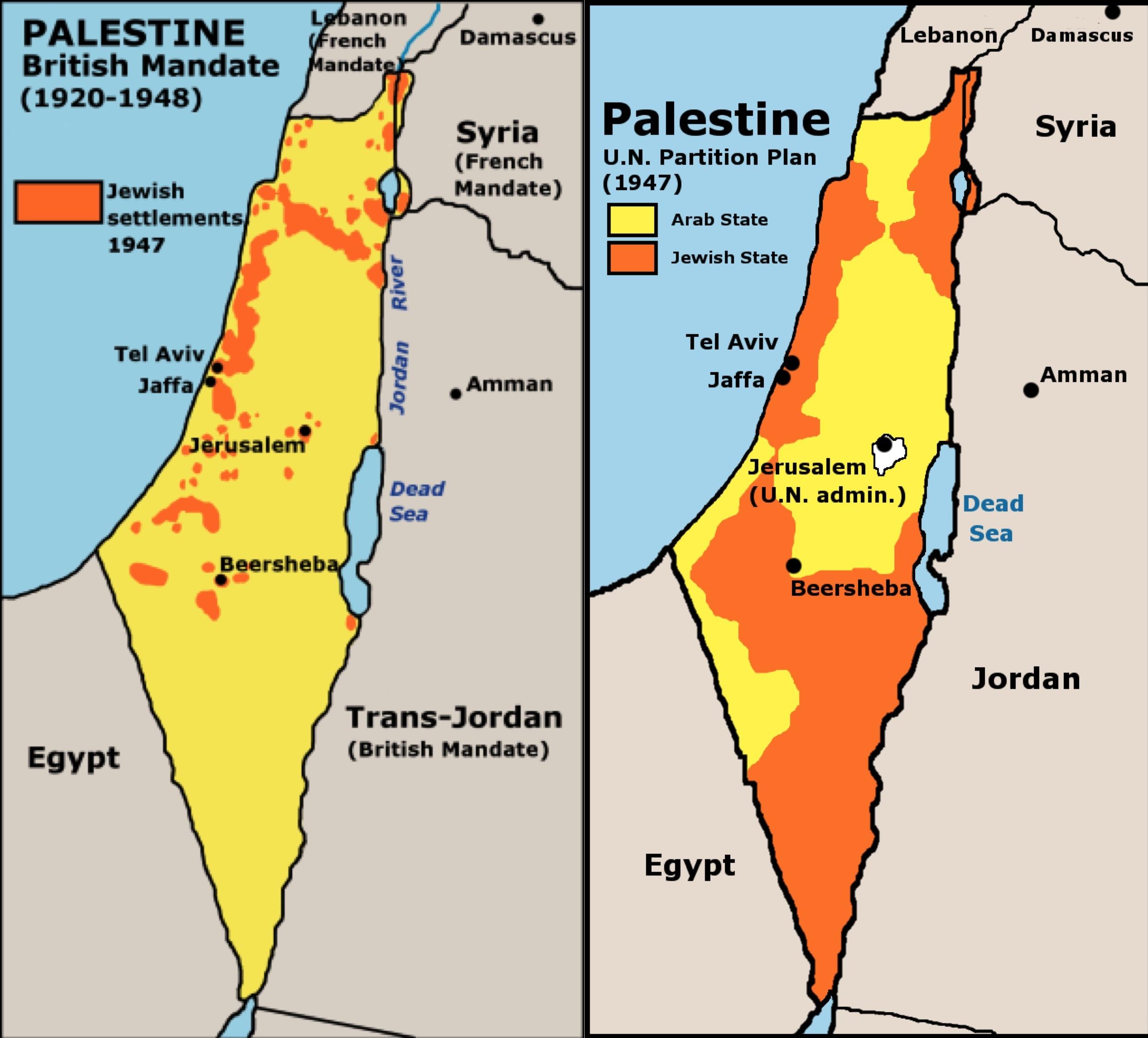 Stato Di Israele Cartina 2019.Il Conflitto Israelo Palestinese Che Non Finira Mai Hic Rhodus