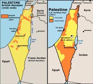 La nascita dello stato di Israele