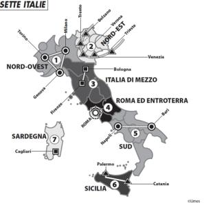 Le sette Italie secondo Limes