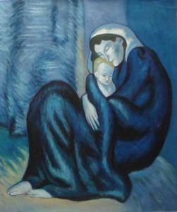 Pablo Picasso, Madre e figlio