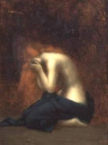 Jean-Jacques Henner, Solitudine