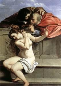 Susanna e i vecchioni, di Artemisia Gentileschi