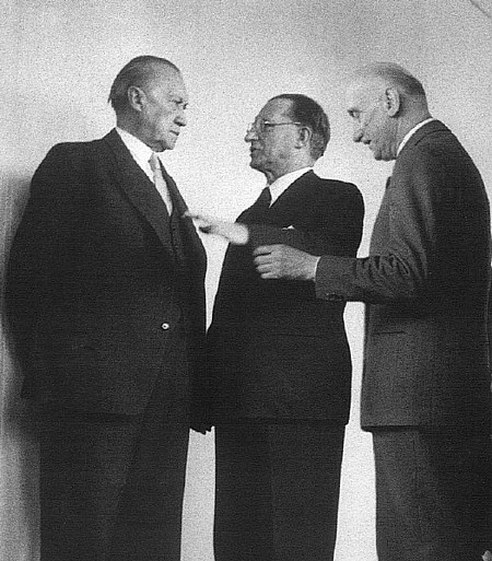 I padri fondatori: Adenauer, De Gasperi, Schuman