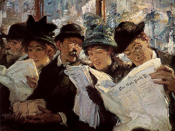 lettori di giornali
