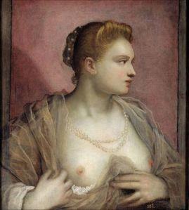 Tintoretto: ritratto di Veronica Franco