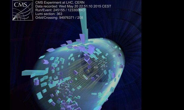 Evento LHC a 13 TeV