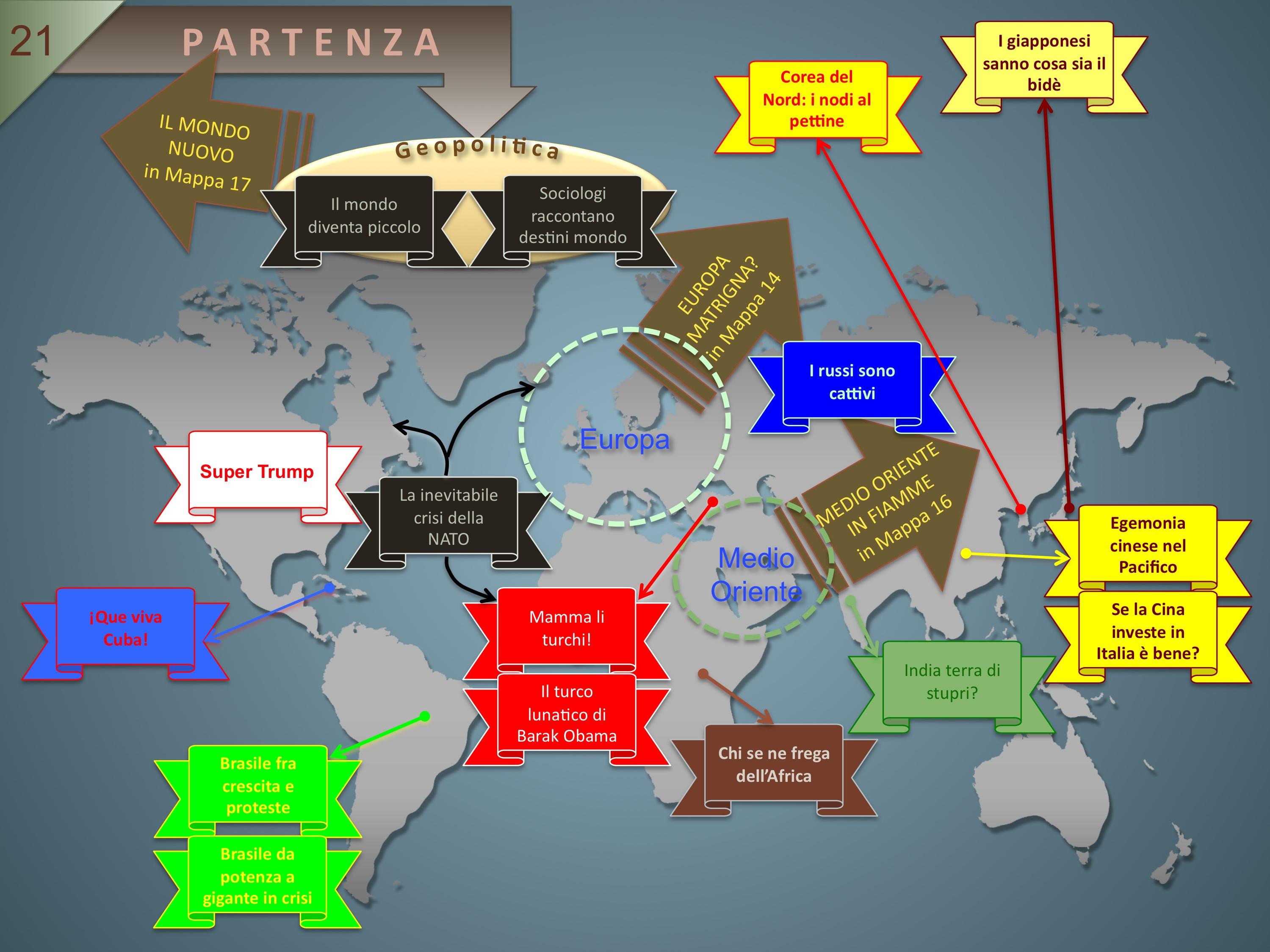Mappa 21Geopolitica