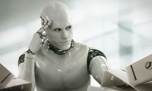 robot pensoso