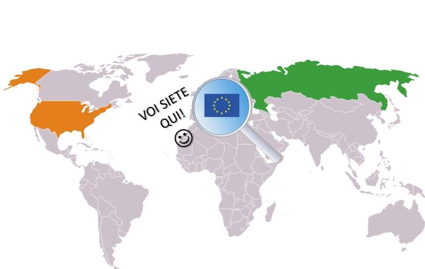 Risultati immagini per La Russia è Europa, non gli USA...